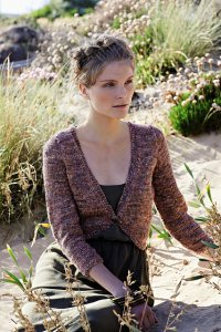 Rowan Silkystones Brook Cropped Sweater Kit - Women's Cardigans
