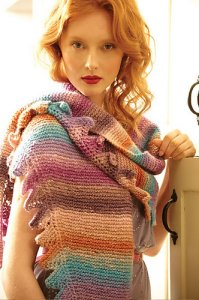 Noro Silk Garden Clara Shawl Kit - Scarf and Shawls