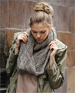 Rowan Cocoon Diamond Scarf Kit - Scarf and Shawls