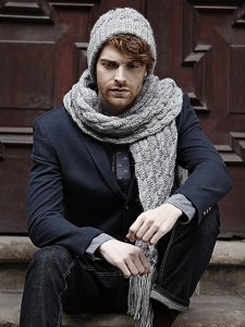 Rowan Creative Focus Worsted Twisted Cable Hat & Scarf Kit - Hats and Gloves