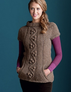 Tahki Montana Warmth Top Kit - Women's Pullovers