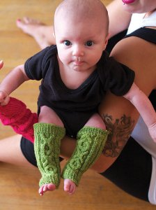 Madelinetosh Tosh Sock Tic Tac Toe Legwarmers Kit - Baby and Kids Accessories