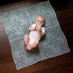 Lorna's Laces Shepherd Worsted Dogwood Blanket Kit - Baby and Kids Accessories