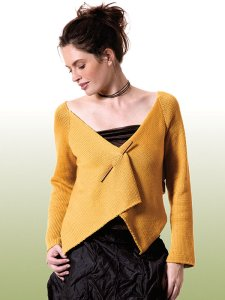 Berroco Modern Cotton Sanpoku Cardigan Kit - Women's Cardigans