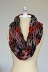 Wisdom Yarns Poems Puzzle Arm Knit Cowl Kit - Scarf and Shawls