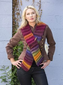 Wisdom Yarns Poems Chunky Accordion Scarf Kit - Scarf and Shawls