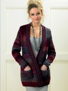 James C. Brett Marble Chunky Jacket Kit - Women's Cardigans