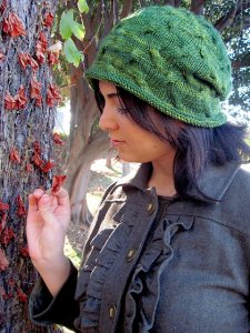 Madelinetosh Tosh DK Tangled Branches Hat Kit - Hats and Gloves