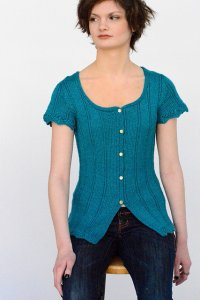 Juniper Moon Farm Findley DK Sankaty Cardigan Kit - Women's Cardigans