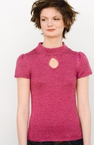 Juniper Moon Farm Findley DK Hadwen Top Kit - Women's Pullovers