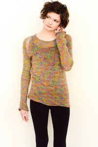 Juniper Moon Farm Findley or Findley Dappled Muscari Pullover Kit - Women's Pullovers