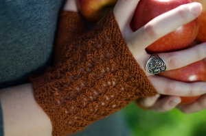 Juniper Moon Farm Findley Cortland Fingerless Mitts Kit - Hats and Gloves