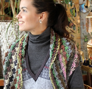 Noro Kirara Crochet Jacket Kit - Crochet for Adults
