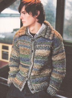 Rowan Country Morrigan Kit - Mens Cardigans