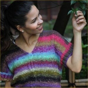 Noro Taiyo Half Sleeve Top Kit - Women's Pullovers