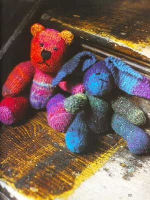 Noro Kureyon Stuffed Bear Kit - Baby and Kids Accessories