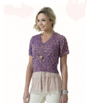 Araucania Huasco Lace Top  Kit - Women's Pullovers