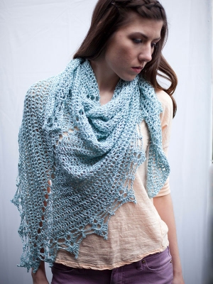 Berroco Lago Halstead Kit - Scarf and Shawls