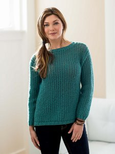 Erika Knight Vintage Wool Starboard Sweater Kit - Women's Pullovers