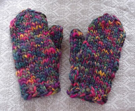 Knitting Pure and Simple Super Bulky Mittens for Women Kit - Hats and Gloves