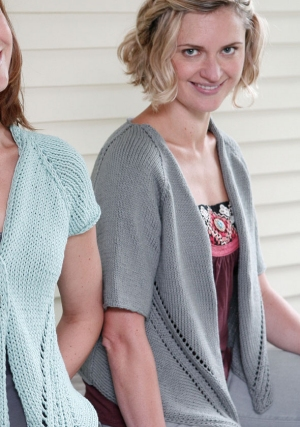 Berroco Weekend Quonset (worsted weight version) Kit - Women's Cardigans
