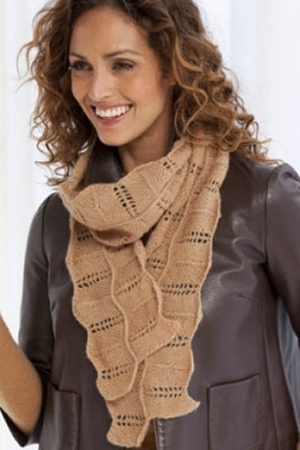 Filatura Di Crosa Nirvana/Superior Ravenna Scarf  Kit - Scarf and Shawls
