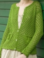 Tahki Cotton Classic Lite Greensleeves Cardigan