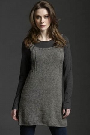 Filatura Di Crosa Zara Trapeze Tunic Kit - Women's Sleeveless