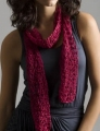 Tahki Ripple Corsage 1-Ball Drop Stitch Scarf