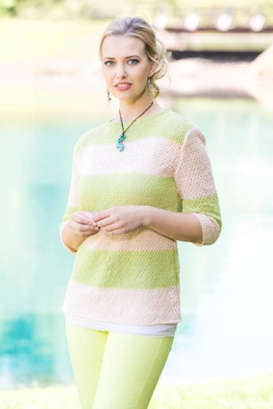 Fibra Natura Flax Dockside Pullover Kit - Women's Pullovers