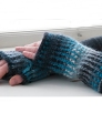 Wisdoms Yarns Poems Chunky Isadora Fingerless Mitts Kit