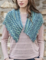 Fibra Natura Whisper Lace Gentle Waves Shawlette