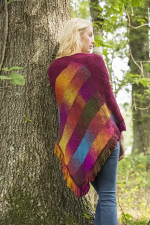 Universal Yarn Classic Shades Bargello Comfort Shawl Kit - Scarf and Shawls