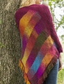Universal Yarn Classic Shades Bargello Comfort Shawl Kit