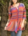 Universal Yarn Classic Shades Walking Bird Cardigan Kit