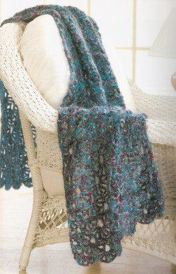 Trendsetter Dune Glitzy Wrap Kit - Crochet for Home