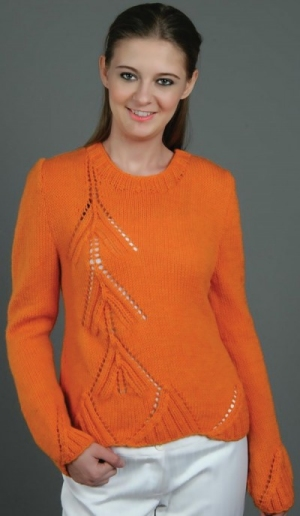 Universal Yarn Deluxe Worsted This Way Up Sweater Kit - Women's Pullovers