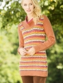 Universal Yarn Deluxe Worsted Superwash September Days Tunic Kit
