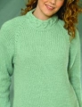 Plymouth Baby Alpaca Grande Top Down Ladies Pullover Kit