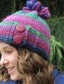 Plymouth Gina Chunky Slip Stitch Button Hat Kit