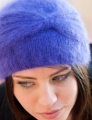 Plymouth Angora Cloche Hat