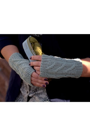 Plymouth DK Merino Superwash Fingerless Mitts Kit - Hats and Gloves