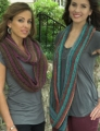 Plymouth Gina Elongated Stitch Cowl