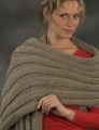 Plymouth Encore Worsted Wide Rib Prayer Shawl Kit