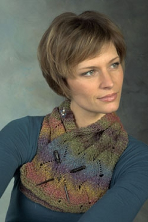 Plymouth Kudo Scarf & Cowl Kit - Scarf and Shawls