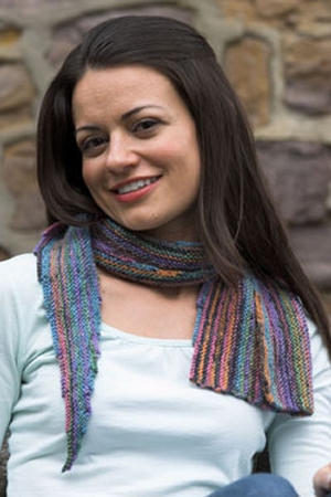 Plymouth Stiletto Stepping Stone Scarf Kit - Scarf and Shawls