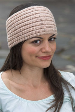 Plymouth Encore Tweed Women's Headband Kit - Women's Accessories