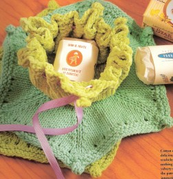 Crystal Palace Cotton Chenille Mason-Dixon Washcloth Kit - Home Accessories