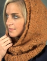 Plymouth Baby Alpaca Grande Tweed Hooded Neckwarmer Kit