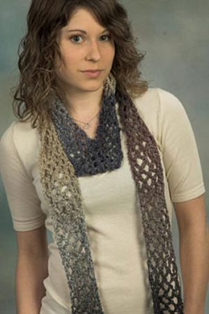 Plymouth Kudo Crochet C Scarf Kit - Crochet for Adults